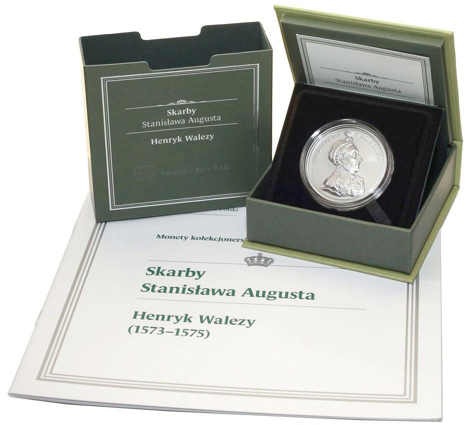 50 złotych 2018 Skarby Stanisława Augusta - Henryk Walezy st.L