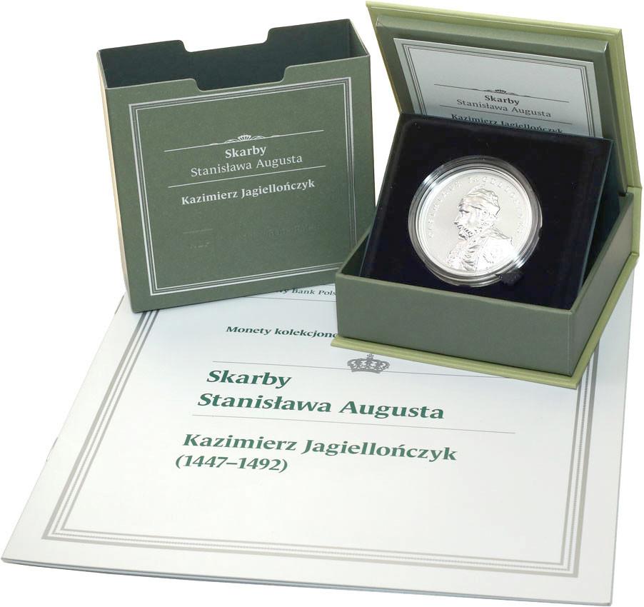 50 złotych 2015 Skarby Stanisława Augusta - Kazimierz Jagiellończyk st.L