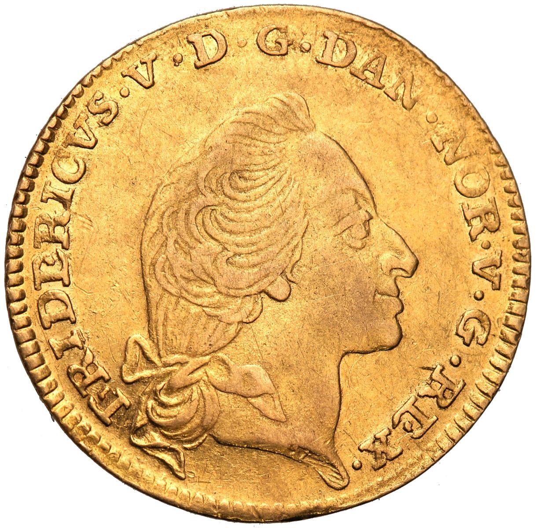 Dania 12 Marek 1760 Courant Dukat st. 3