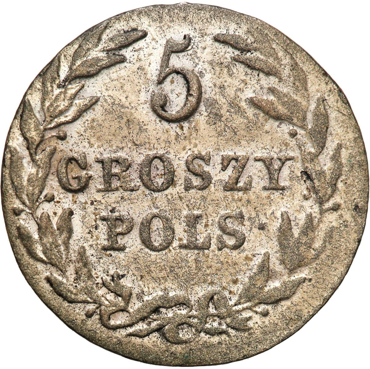 Królestwo Polskie 5 groszy 1816 IB st. 2