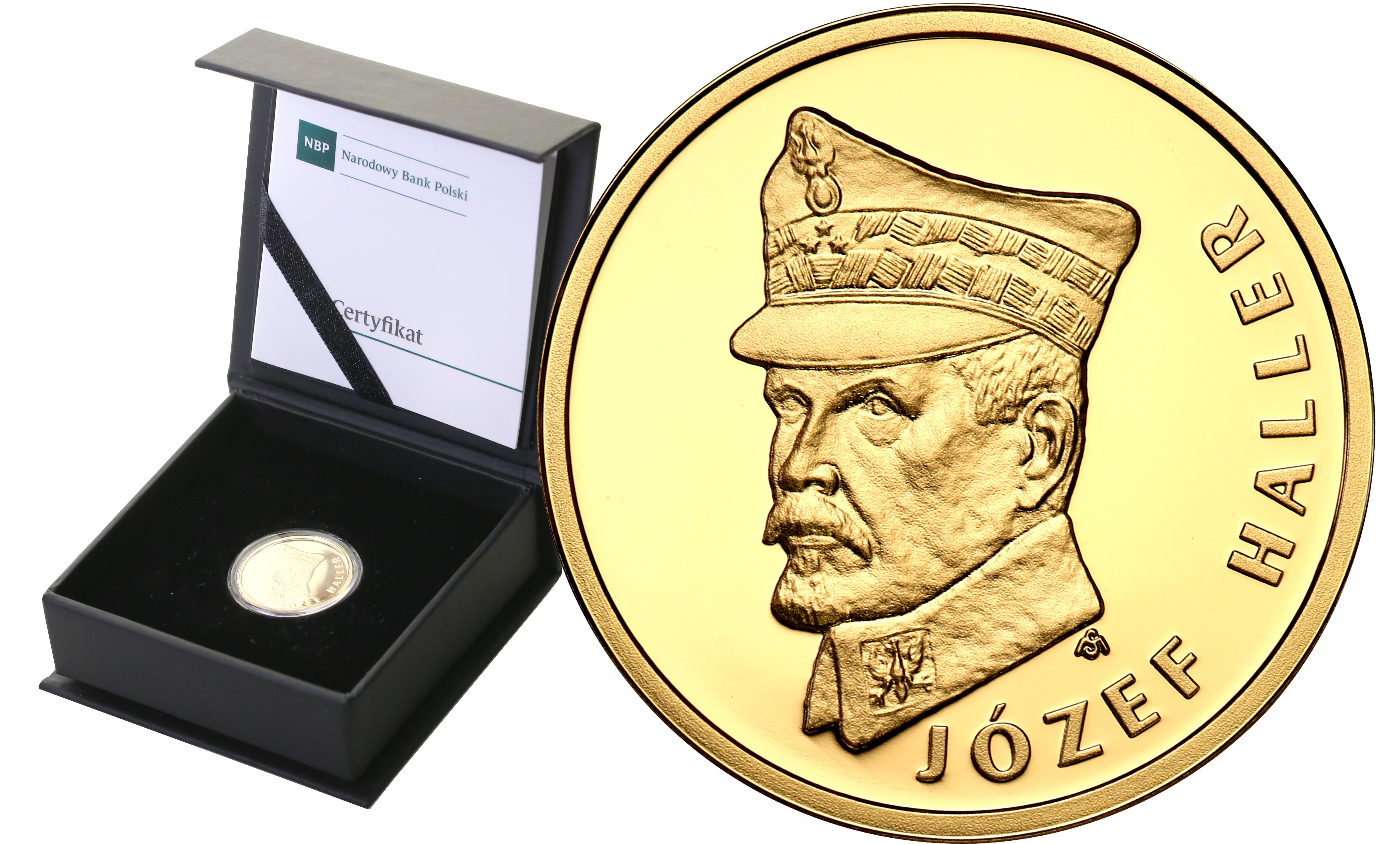 Polska. 100 złotych 2016 Józef Haller st.L