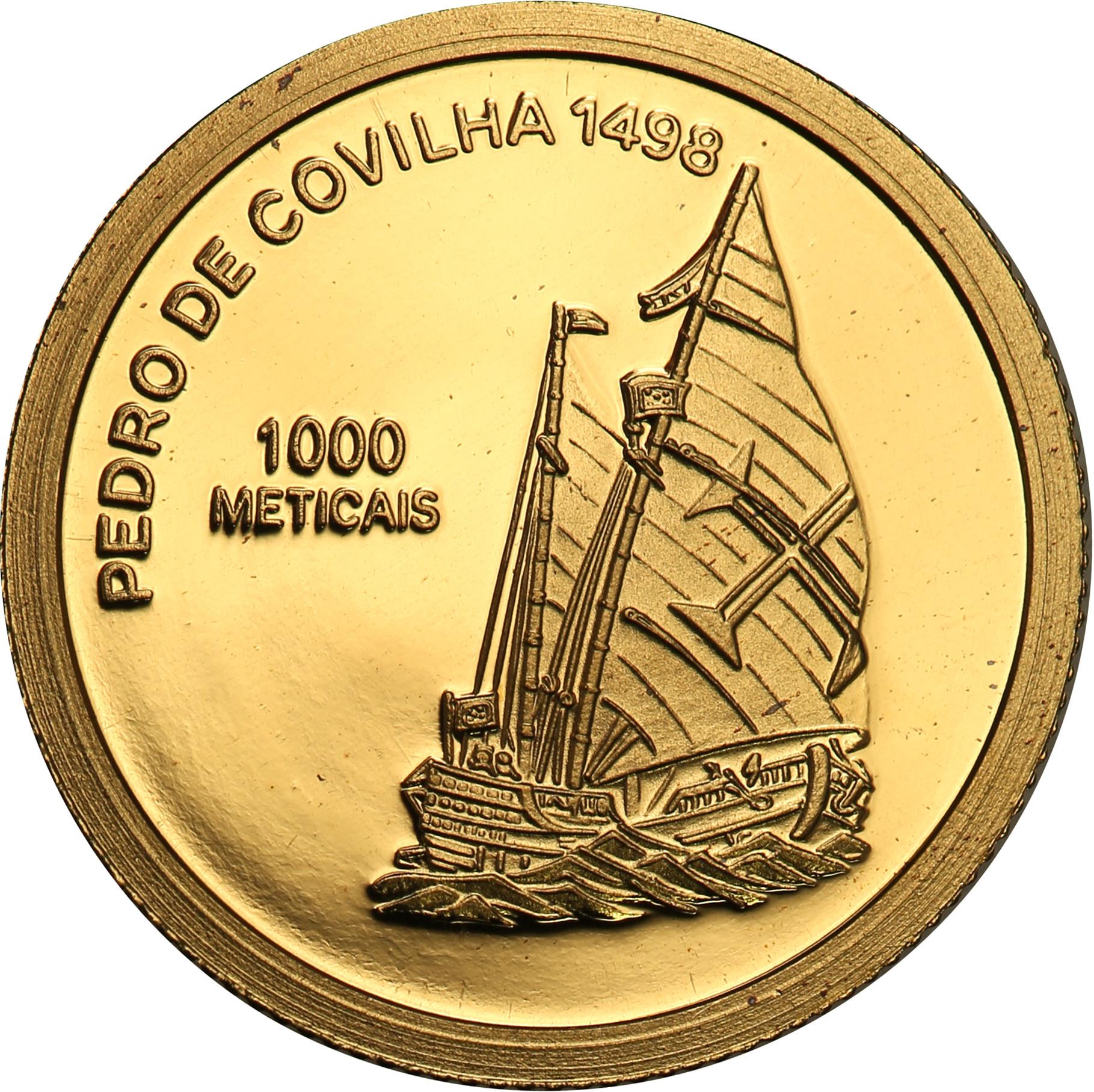 Mozambik. 1000 Metical 2003 Pedro de Covilha st.L