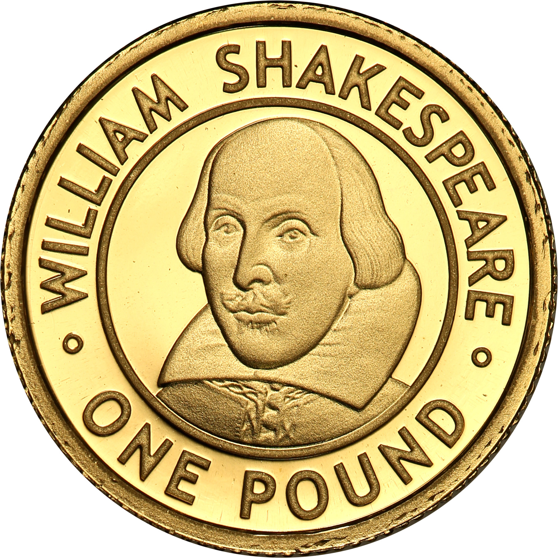 Alderney. 1 funt 2006 William Shakespeare st.L
