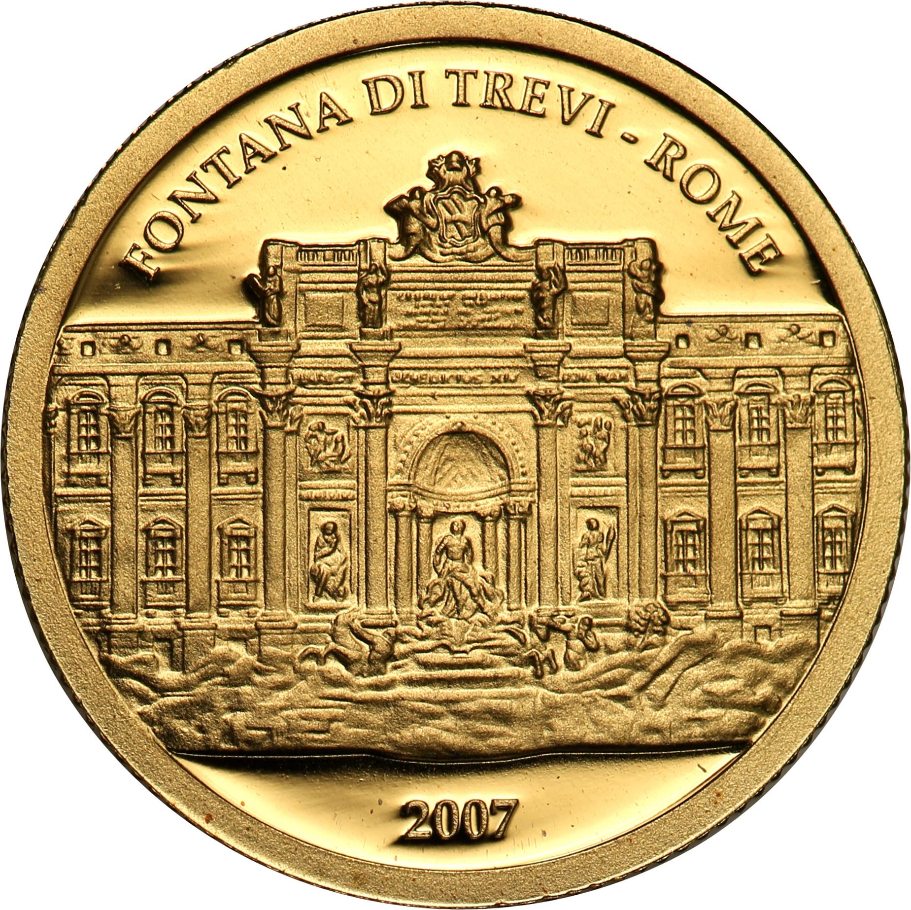 Rep. Palau. 1 dolar 2007 Fontana Di Trevi st.L