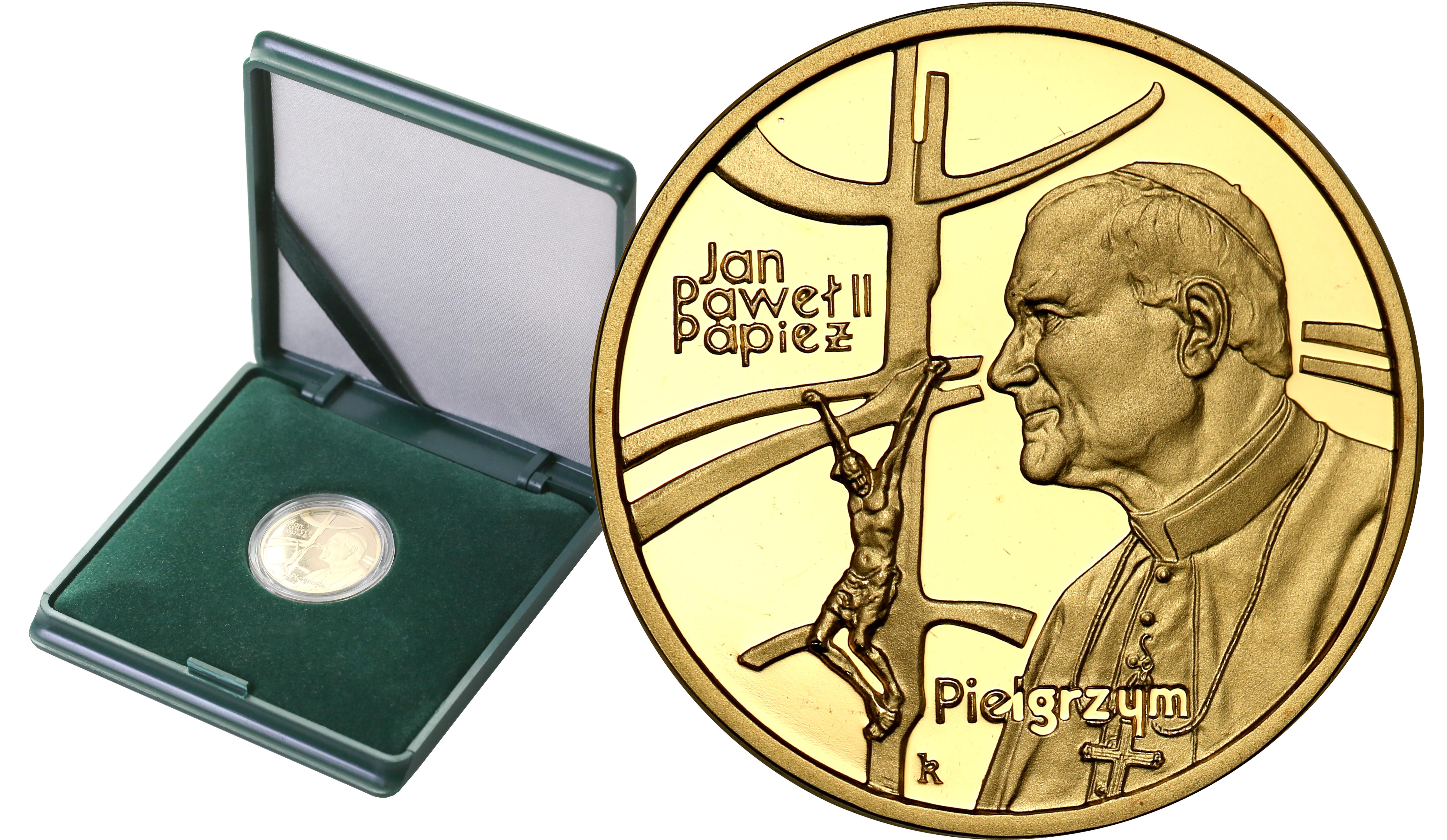 III RP. 100 złotych 1999 Jan Paweł II Papież Pielgrzym st.L