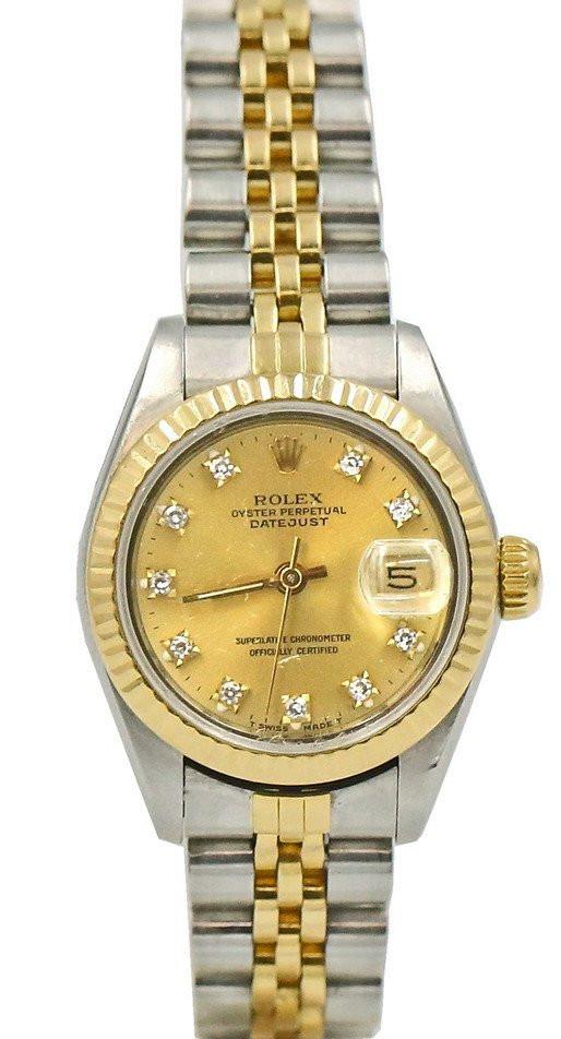 Zegarek Rolex Oyster Perpetual Datejust z brylancikami