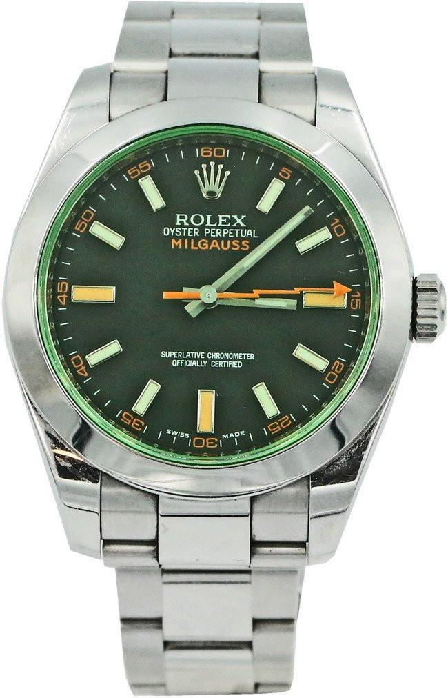 Zegarek Rolex Milgauss 116400GV – Zielony