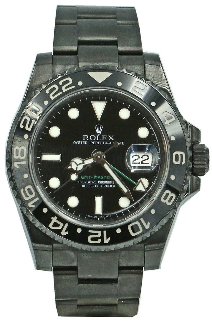 Zegarek Rolex GMT-Master II 116710LN Czarny – custom black
