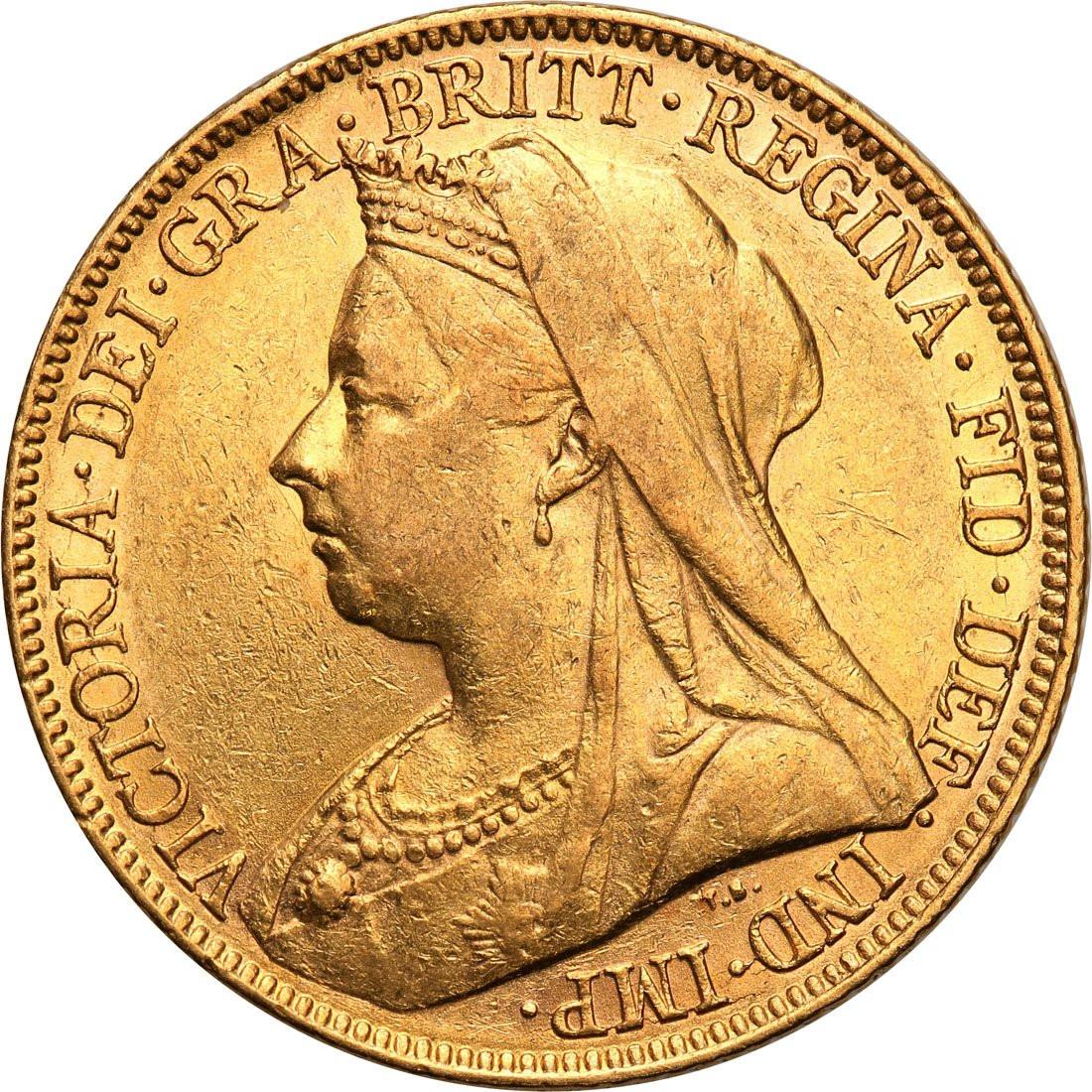 Wielka Brytania Victoria 1 suweren 1899