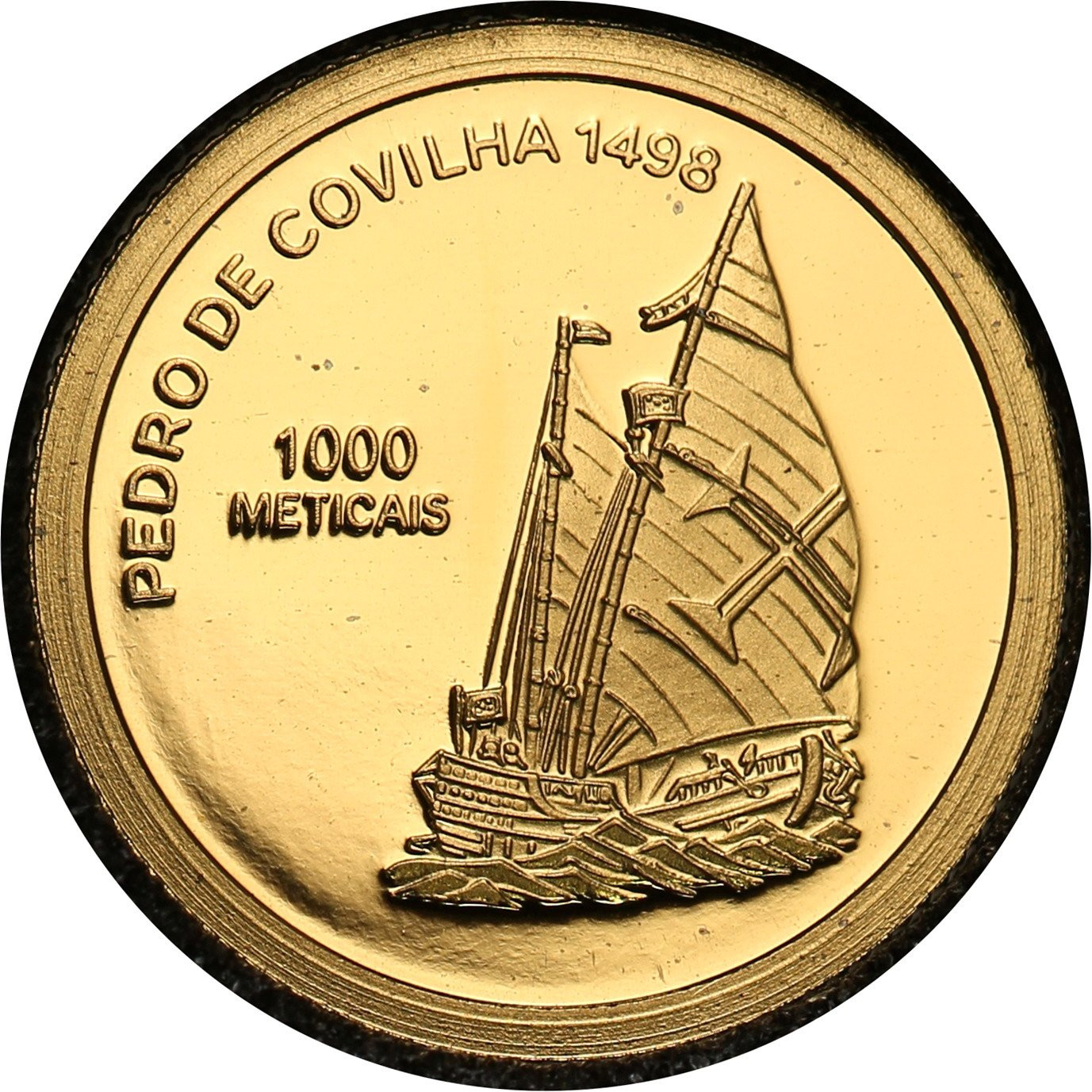 Mozambik. 1000 Metical 2003 Pedro de Covilha