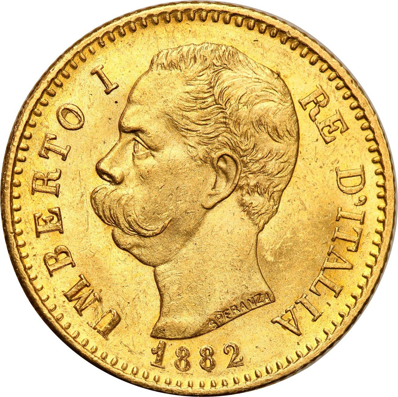 Włochy 20 Lirów 1882 Umberto I