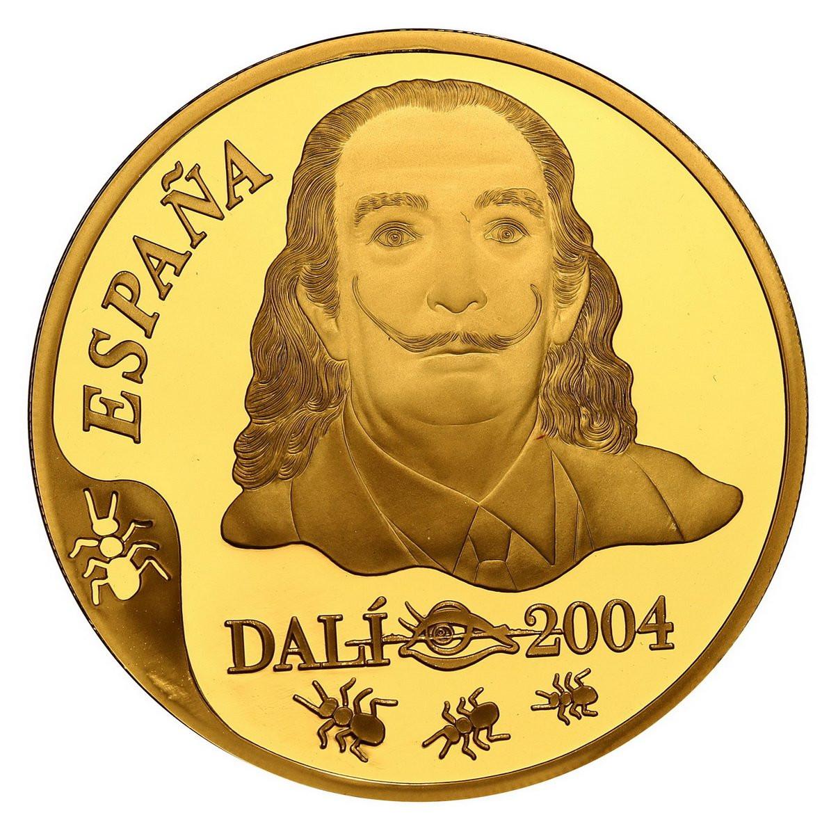 Hiszpania 400 Euro 2004 Dali - Au.999 st. L