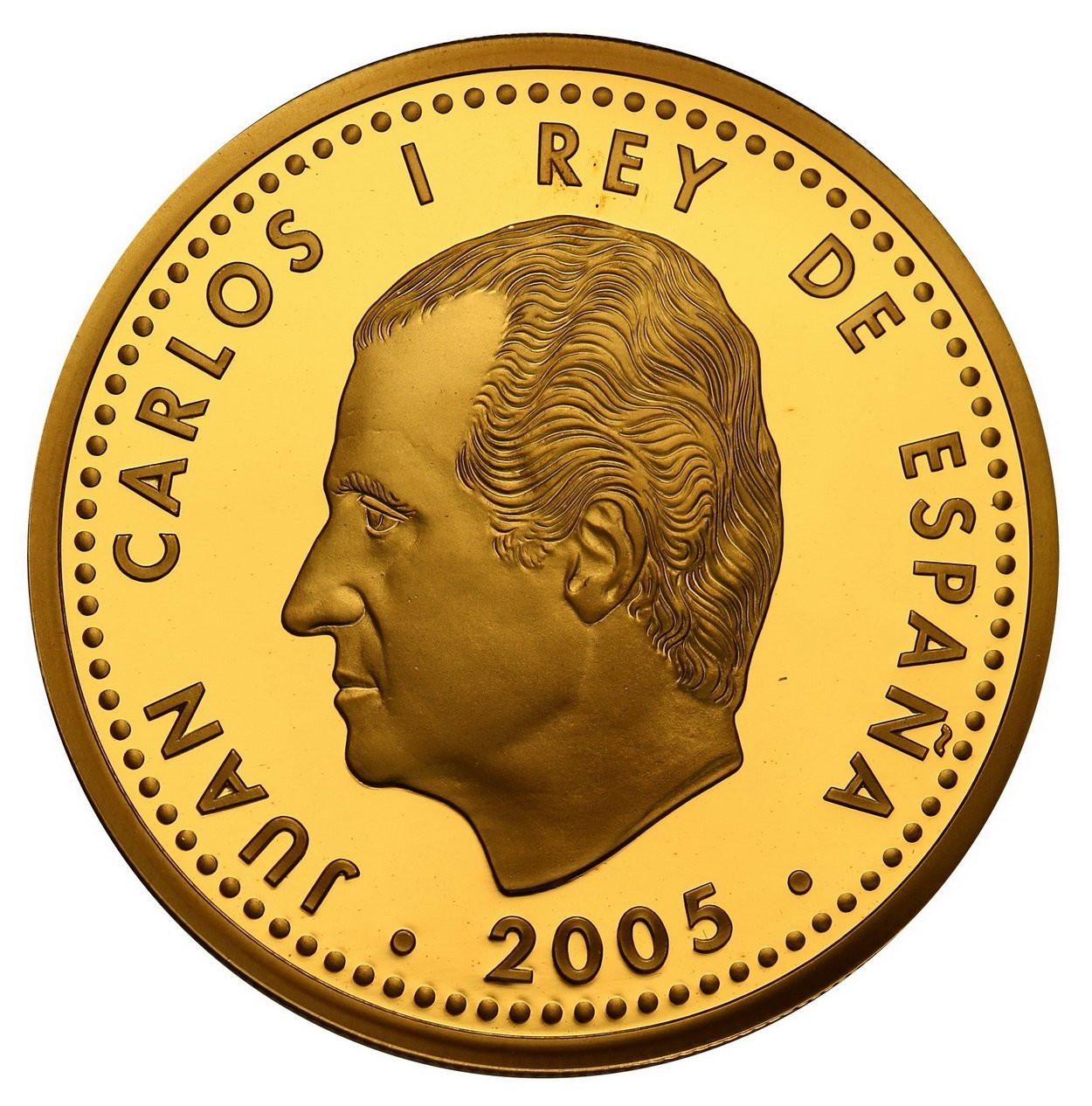 Hiszpania. 200 Euro 2005 Program Europa - pokój i wolność