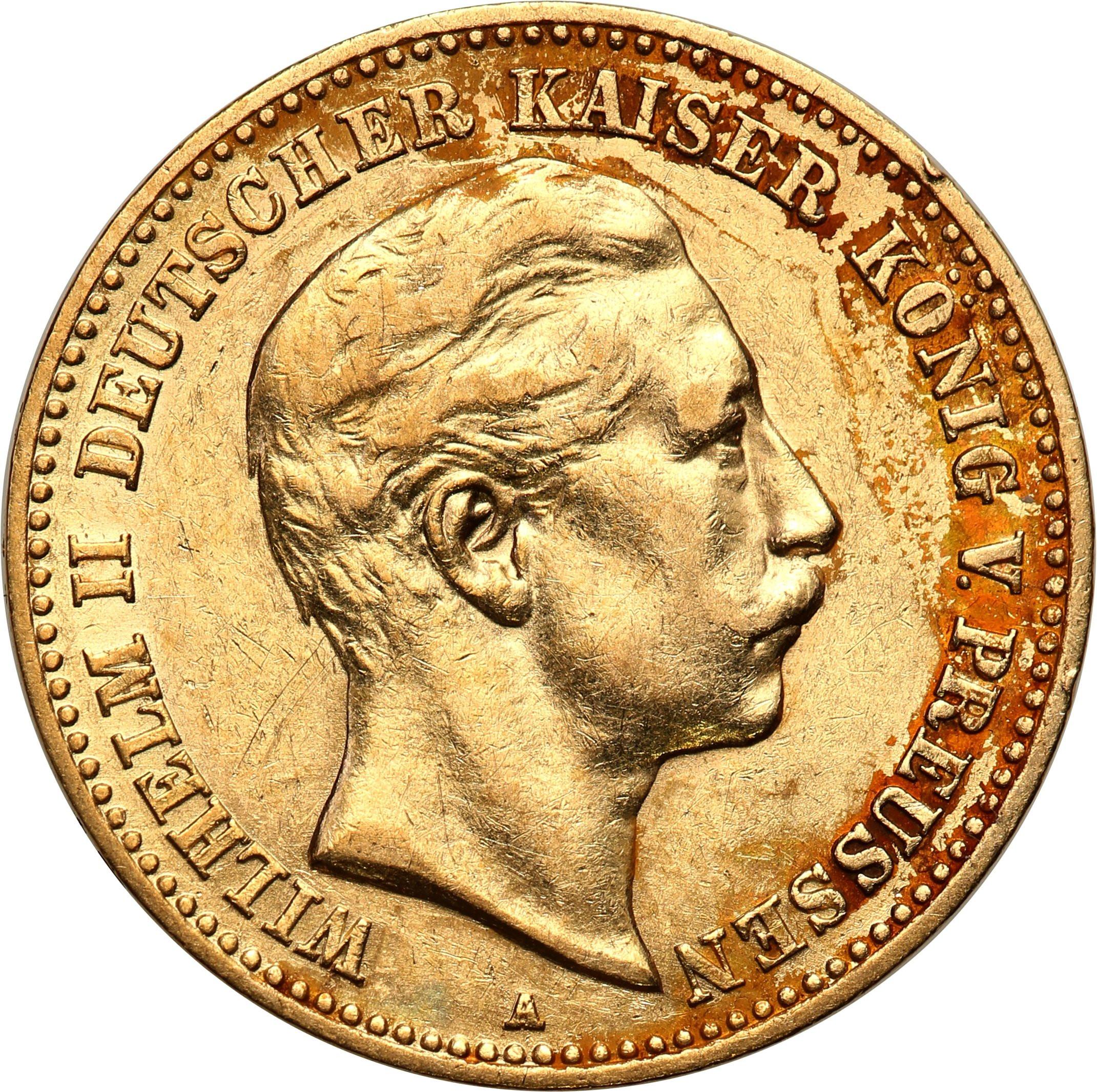 Niemcy Prusy 10 Marek 1902 A st.2-