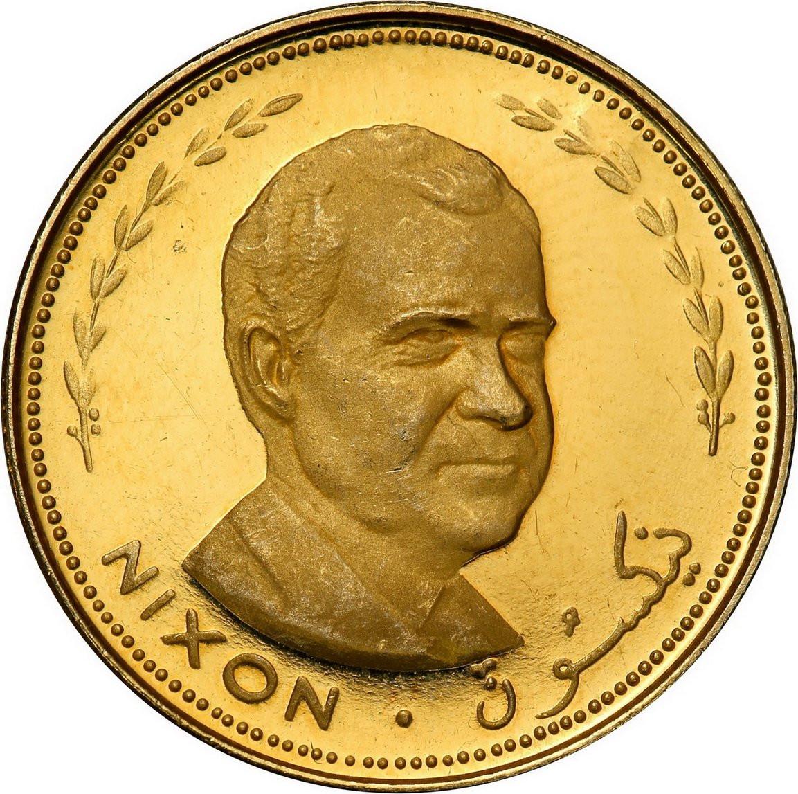 Fujairah Zjednoczone Emiraty Arabskie. 25 Riyals AH 1388 (1969) Nixon