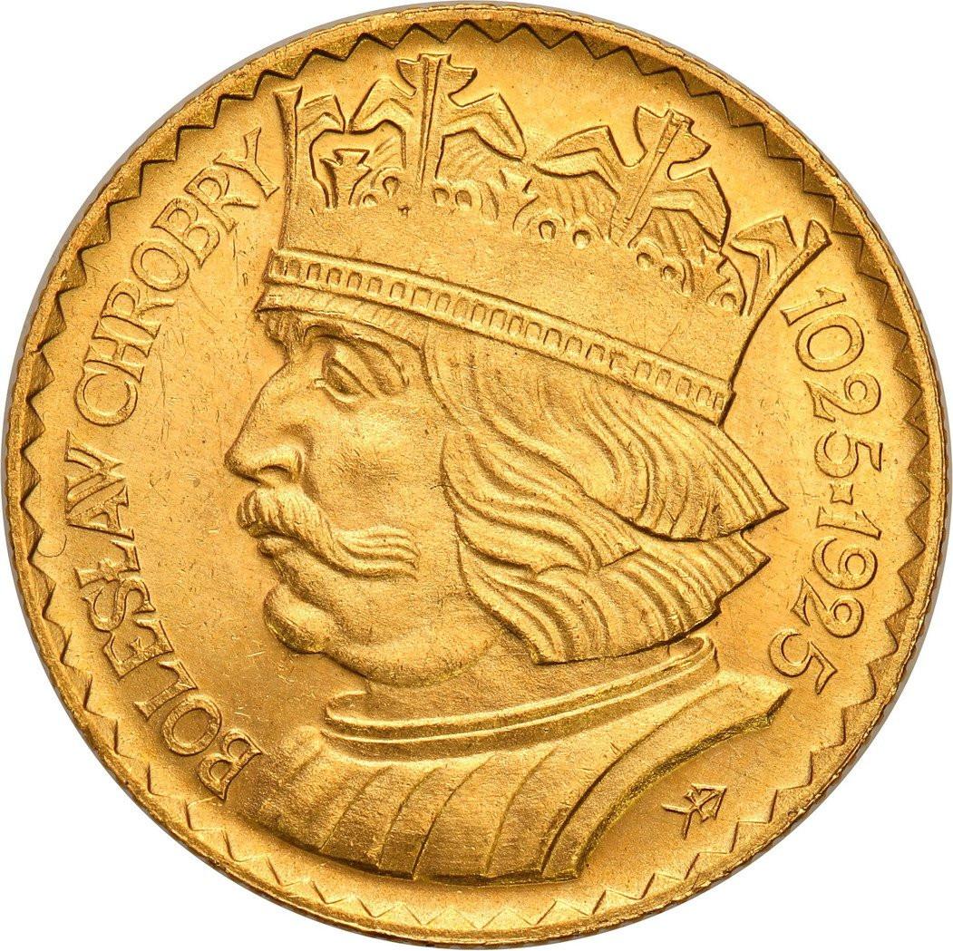 II RP. 10 złotych 1925 Chrobry - RZADKIE