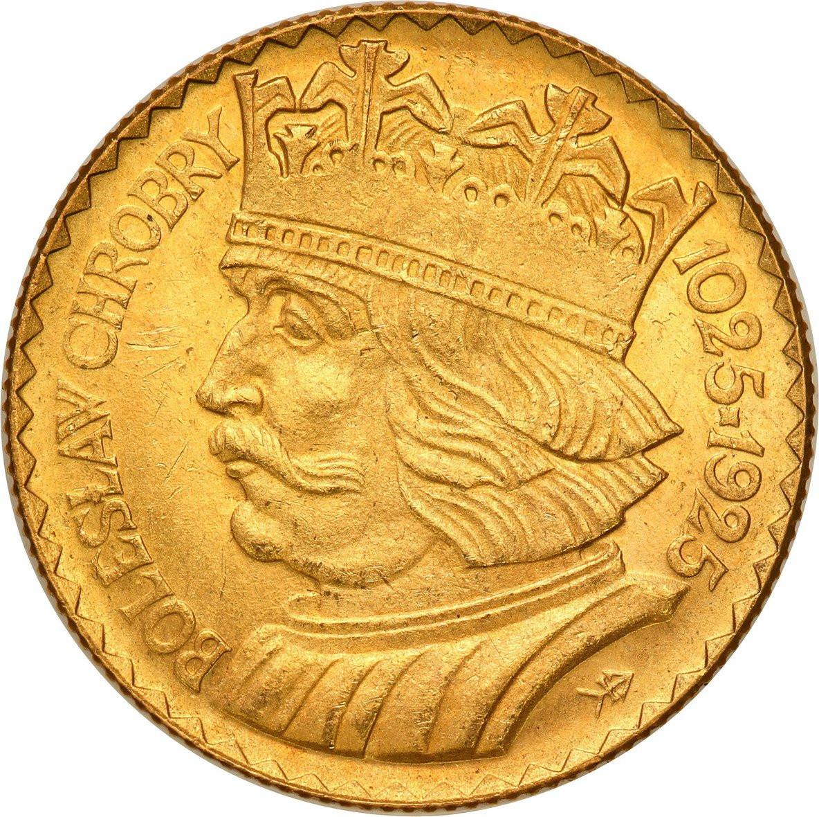 II RP. 20 złotych 1925 Chrobry - RZADKIE