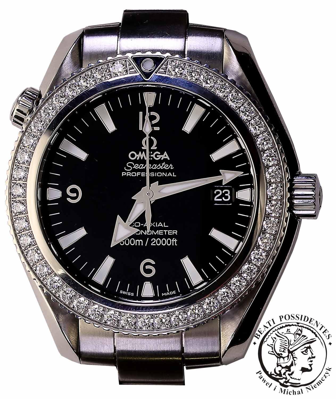Zegarek Omega Seamaster Planet Ocean - Diamenty