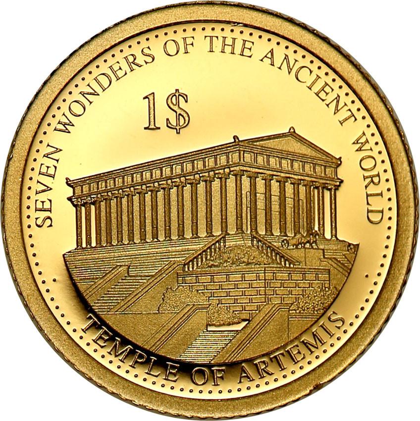 Wyspy Solomona 1 dolar 2016 Świątynia Artemidy st.L