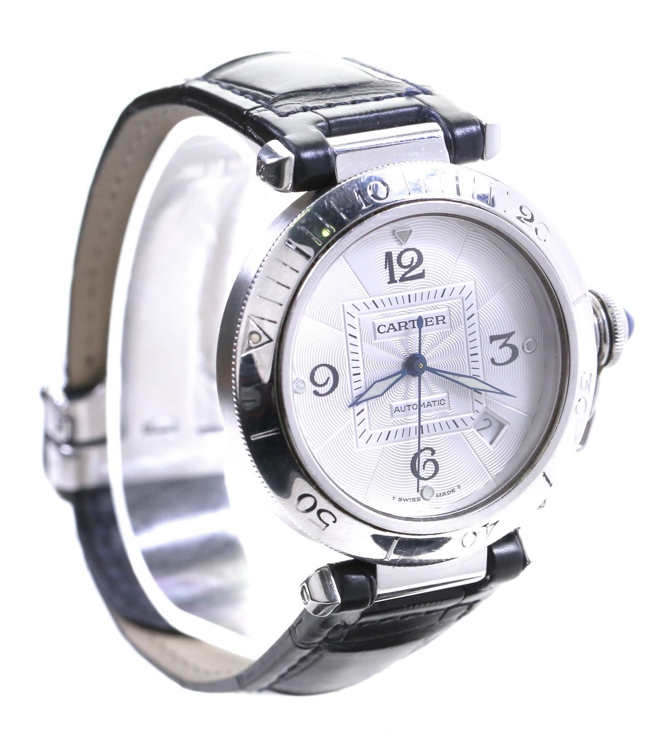 Zegarek Cartier Pasha Seatimer Automatic - Pasek + Bransoleta