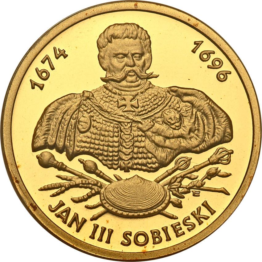 III RP 100 złotych 2001 Jan III Sobieski st.L