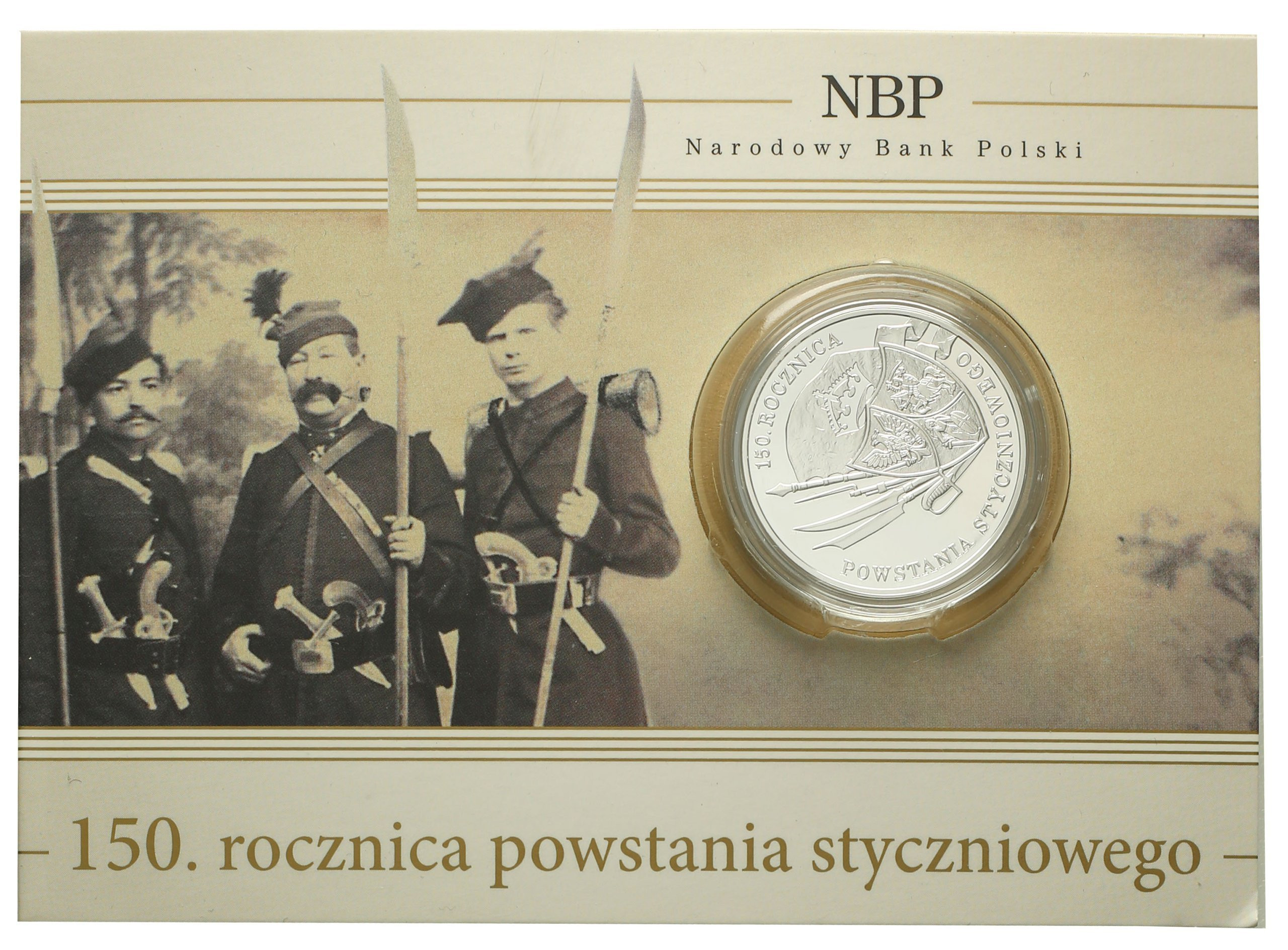 10 złotych 2013 150 lat Powstania Styczniowego st. L
