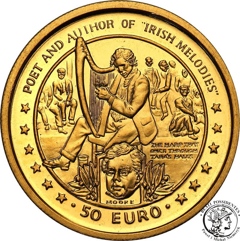 Wyspa Man 50 Euro 1997 Thomas Moore st.L-