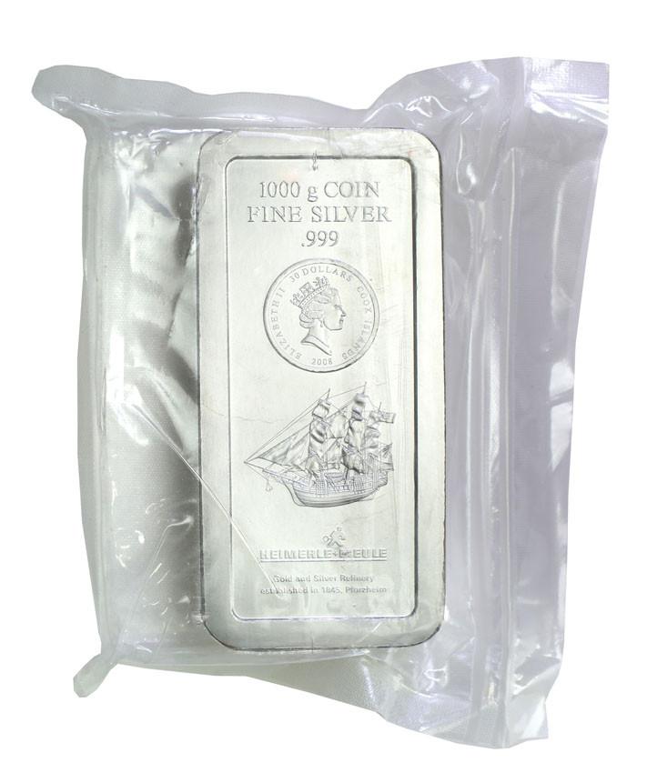 Wyspy Cooka / Cook Islands 30 dolarów 2008 moneta 1 kg Ag .999 st.1